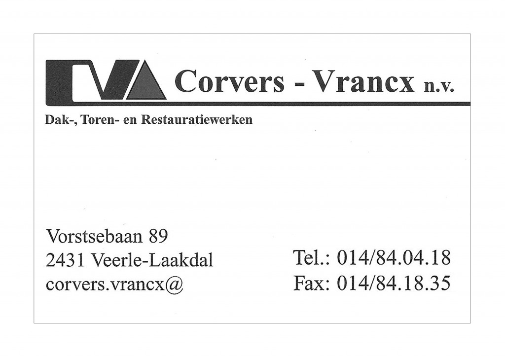 Corvers - Vranckx